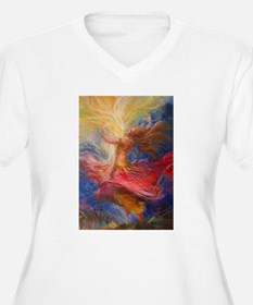dance of light Plus Size T-Shirt