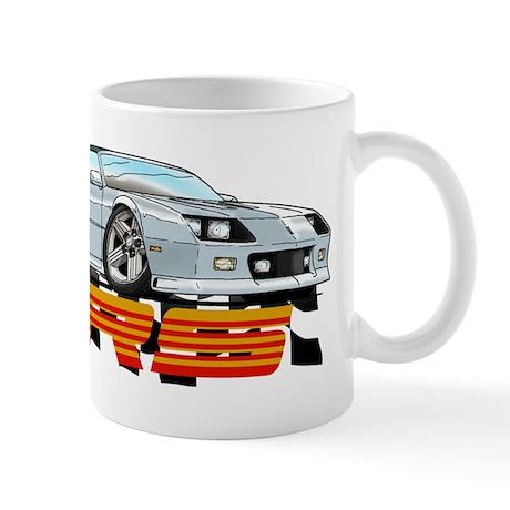 White RS Camaro Mug