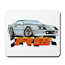 White RS Camaro Mousepad