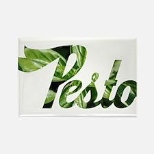 I Love Pesto Rectangle Magnet