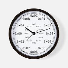 Hexadecimal Wall Clock
