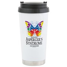 Asperger's Syndrome Butterfly Travel Mug