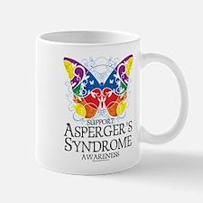 Asperger's Syndrome Butterfly Mug