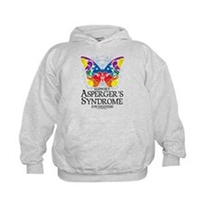 Asperger's Syndrome Butterfly Hoodie
