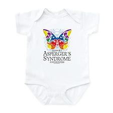 Asperger's Syndrome Butterfly Infant Bodysuit