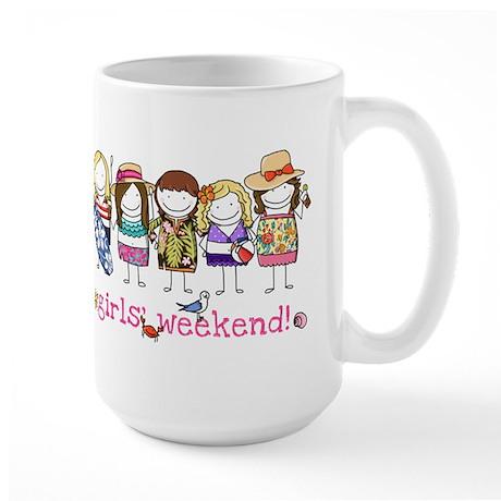 Girls' Weekend - Large Mug