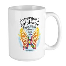 Asperger's Syndrome Butterfly Mug