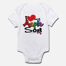 I Love My Aspie Son Infant Bodysuit