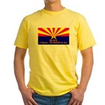 SB1070 Yellow T-Shirt