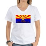 SB1070 Women's V-Neck T-Shirt