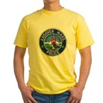 Andover Massachusetts Police Yellow T-Shirt