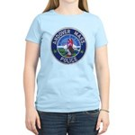 Andover Massachusetts Police Women's Light T-Shirt