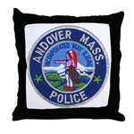 Andover Massachusetts Police Throw Pillow