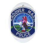 Andover Massachusetts Police Ornament (Oval)