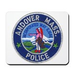 Andover Massachusetts Police Mousepad