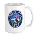 Andover Massachusetts Police Large Mug