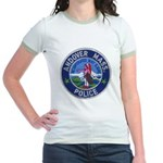 Andover Massachusetts Police Jr. Ringer T-Shirt