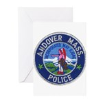 Andover Massachusetts Police Greeting Cards (Pk of