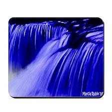 BLUE WATERFALLS Mousepad