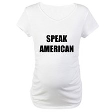 Speak American Shirt