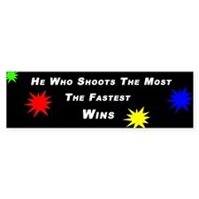 Paintball Bumper Bumper Sticker