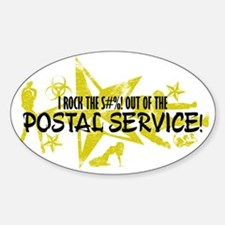 I ROCK THE S#%! - POSTAL SERVICE Decal