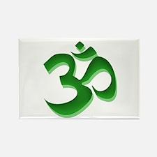 Om Rectangle Magnet (10 pack)