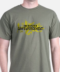 I ROCK THE S#%! - LAW ENFORCEMENT T-Shirt