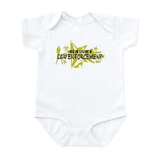 I ROCK THE S#%! - LAW ENFORCEMENT Infant Bodysuit
