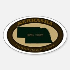 Nebraska Est. 1867 Decal