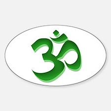 Om Sticker (Oval)