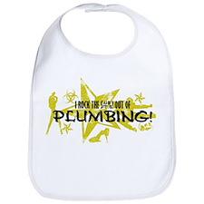 I ROCK THE S#%! - PLUMBING Bib