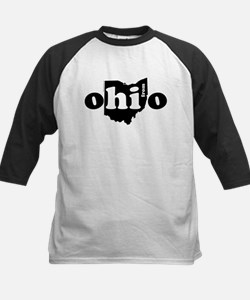 Hi From Ohio Kids Baseball Jersey