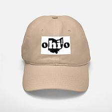 Hi From Ohio Baseball Baseball Cap