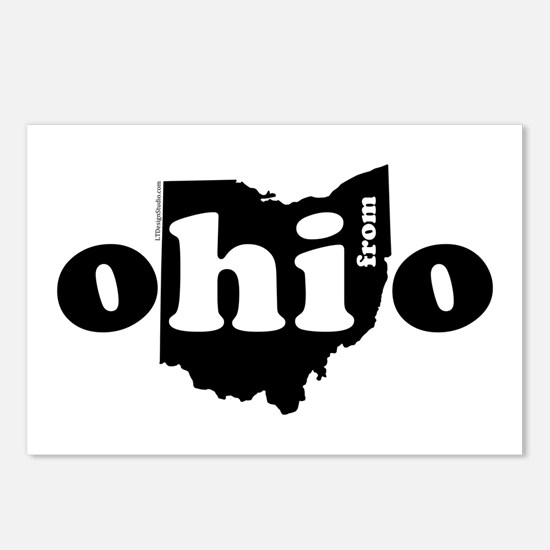 Hi From Ohio Postcards (Package of 8)