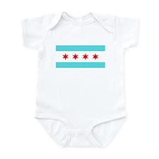 Chicago Flag Infant Bodysuit