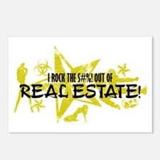 I ROCK THE S#%! - REAL ESTATE Postcards (Package o