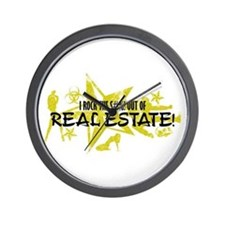I ROCK THE S#%! - REAL ESTATE Wall Clock