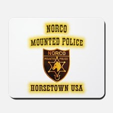 Norco Mounted Police Mousepad