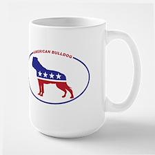 American Bulldog Political Mug