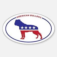 American Bulldog Political Decal