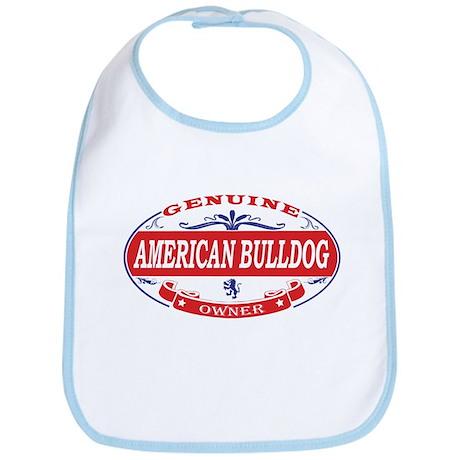 American Bulldog Owner Bib