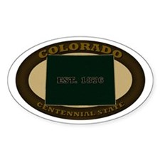 Colorado Est. 1876 Decal