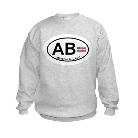 American Bulldog Kids Sweatshirt