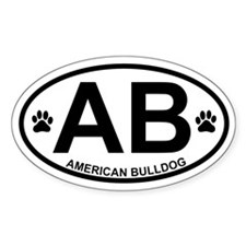 American Bulldog Products Decal