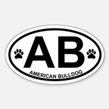American Bulldog Products Decal