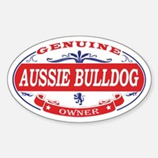 Aussie Bulldog Owner Decal