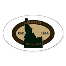 Idaho Est. 1890 Decal