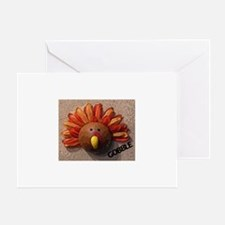 Cute 1st turkey day Greeting Card