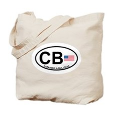 Catahoula Bulldog Tote Bag